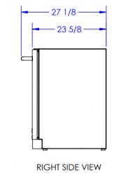 Bull 24-inch Compact Refrigerator-2