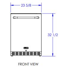 Bull 24-inch Compact Refrigerator