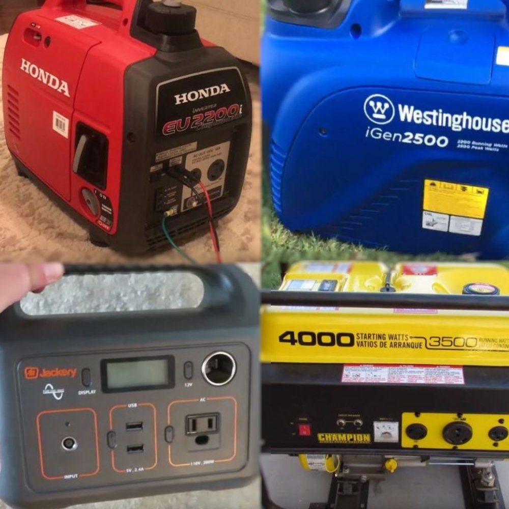 Best Portable Generators] For RV Camping Review: Top-5 in